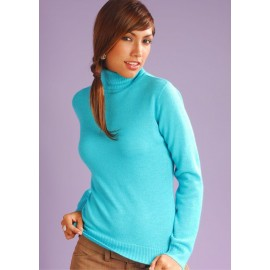 Turtle Neck Alpaca Sweater