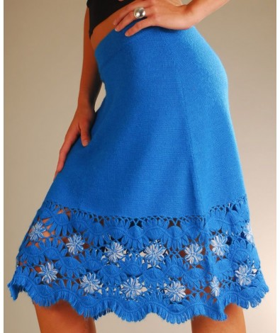 Lady's Alpaca skirt