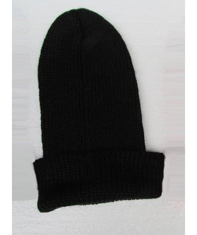 Unisex Alpaca Cap Black