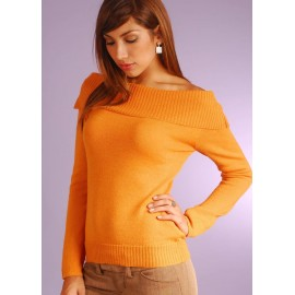 Alpaca Boat Neck Sweater