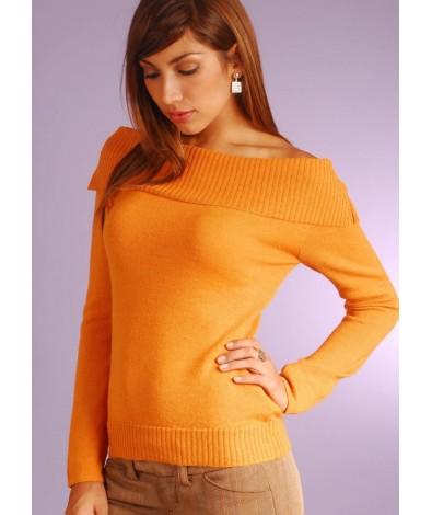 Alpaca Boat Neck Sweater