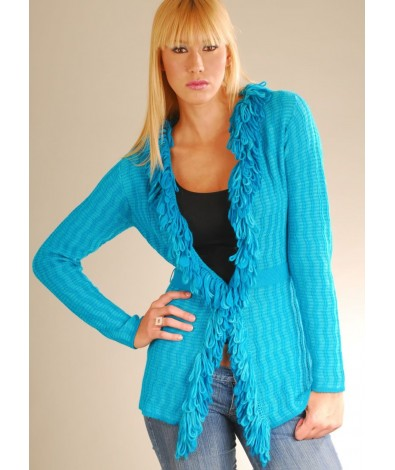 Funky cardigan sweater