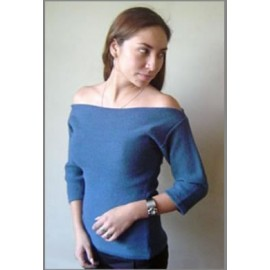 Ladies straight cut top sweater