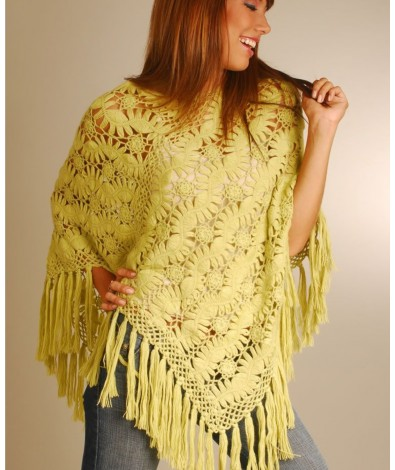 Ladies Alpaca poncho