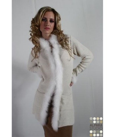Womens alpaca coat
