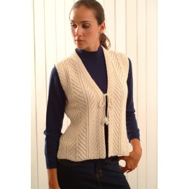 Lady's Vest With Ties