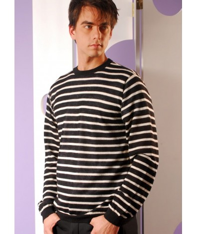 Light Ribbed Sweater.