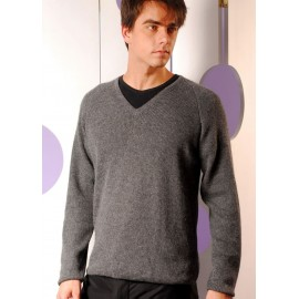 Men's Alpaca V-Neck sweater