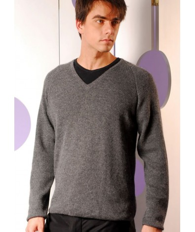 Alpaca V-Neck sweater