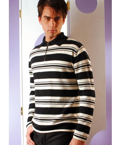 Half zipper sweater