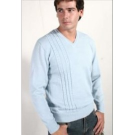 V- Neck alpaca sweater