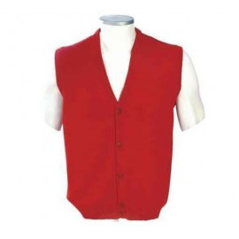 Alpaca Vest with buttons.