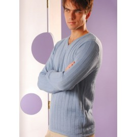 Mens Ribbed Sweater