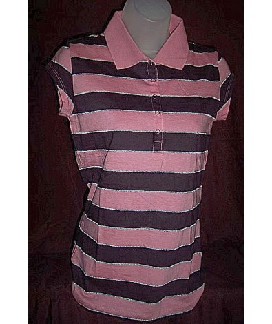 Lady's Cotton Polo Top