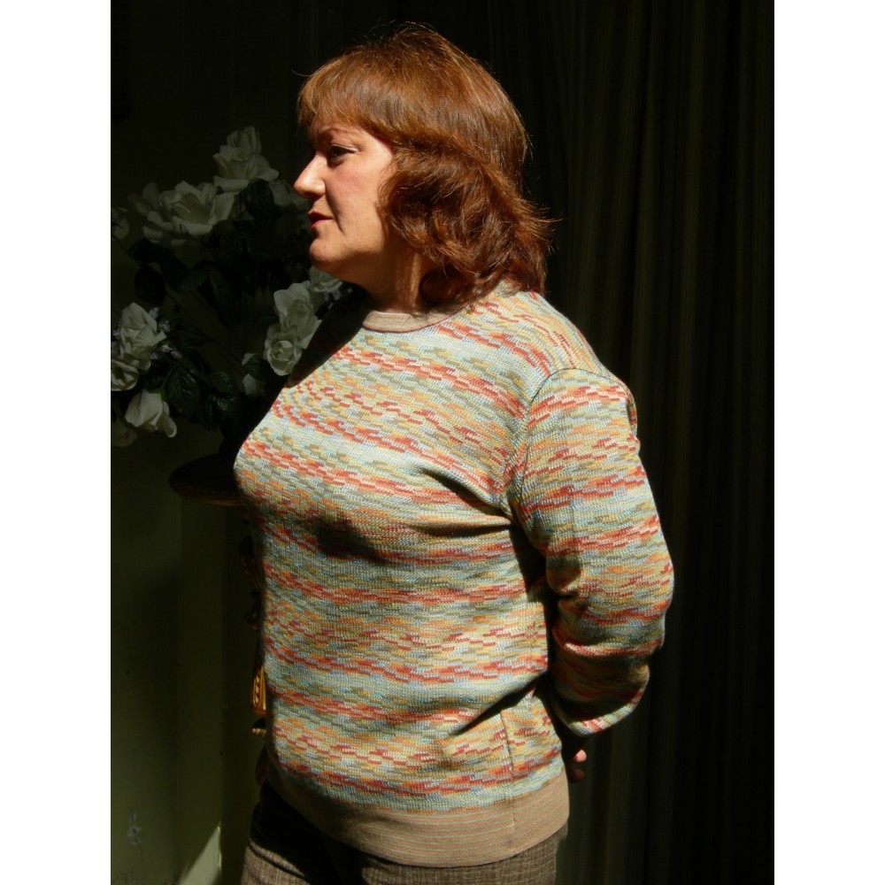 Womens Pima Cotton Sweater - American Alpaca Clothing
