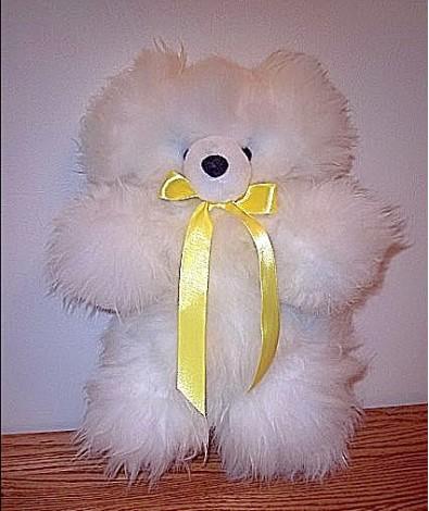 "Alpaca Teddy Bear 12"""
